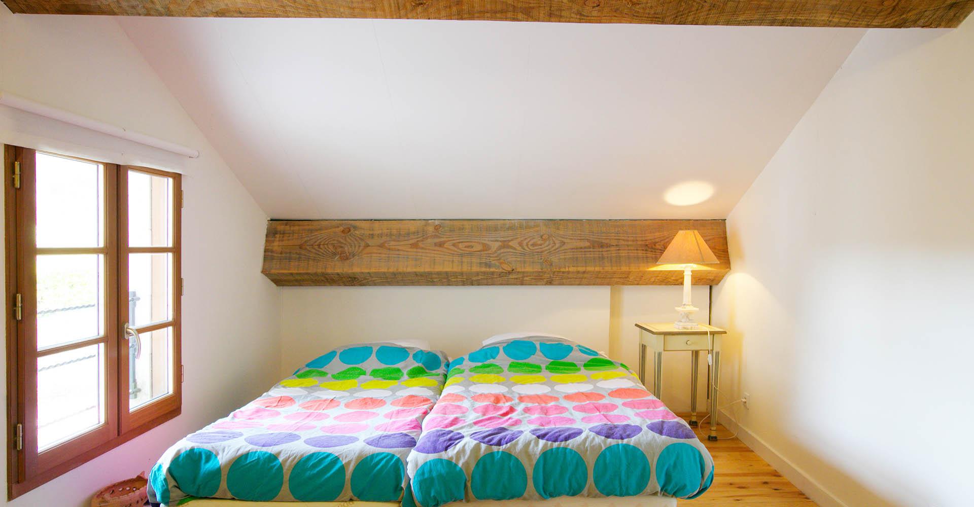 Domain-de-Bellac-Le-Cabriolet-slaapkamer   Domaine de Bellac